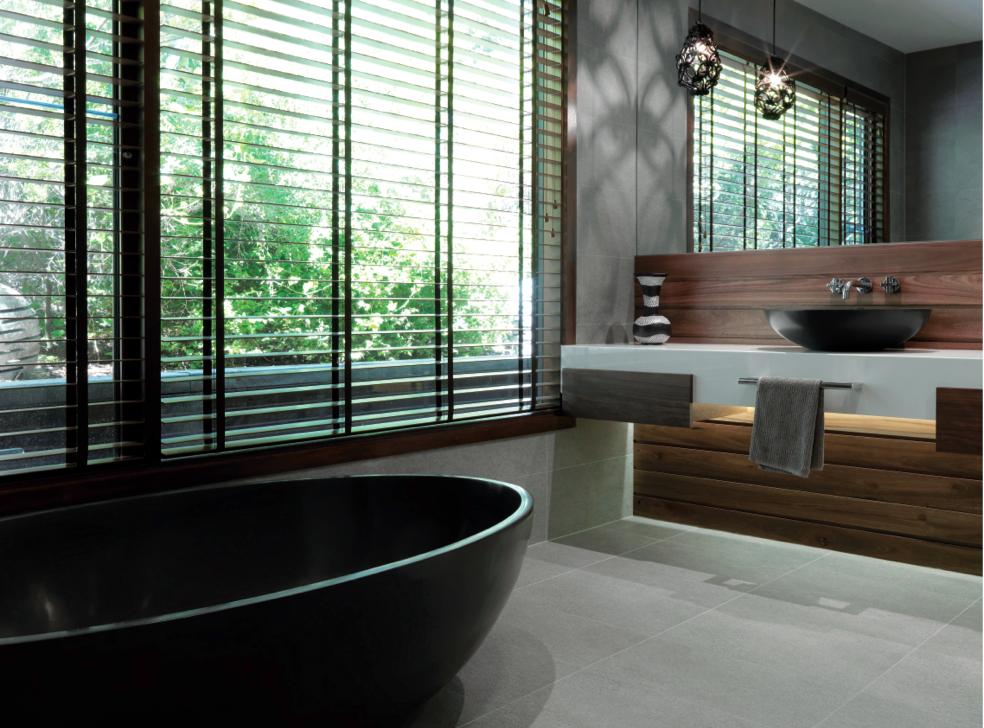 bathrooms minimalist palette